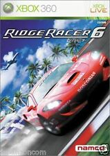 Used Xbox 360 Ridge Racer 6  MICROSOFT JAPAN JP JAPANESE JAPONAIS IMPORT
