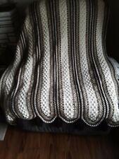 new handmade crocheted afghan