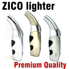 ZICO Ergonomic Cigarette & Cigar Butane Torch Lighter (1pc) Assorted Color.