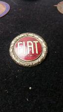 FIAT   Emaille Emblem 60er Jahre Lorioli Milano