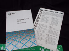AT&T Owners Manual Answering Machine Model 1491 Micro Cassette MC-60