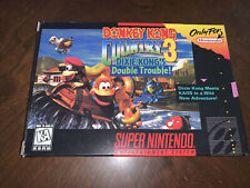 NINTENDO DONKEY KONG COUNTRY 3 BOX ONLY