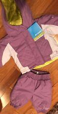 $130 NWT 6M Girls Columbia Purple 2-Tone 2 pc Jane Frosty Set Snow Suit