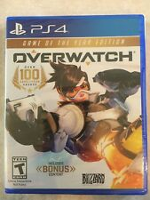 Overwatch: Game of the Year Edition (Sony PlayStation 4, 2017) PS4 NEW