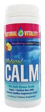 Natural Vitality Natural Calm Anti-Stress Drink Raspberry Lemon Flavor 8 oz