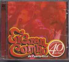 RARE salsa CD GRAN COMBO DE PUERTO RICO 40 aniversario 2cd set limited NO LONGER