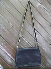 Laura Scott Shoulder Bag Dark Navy Blue Faux Leather Purse