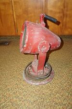 HUGE ANITQUE VINTAGE PYLE PYLET ADJUSTABLE MOVEABLE SPOTLIGHT SPOT LIGHT