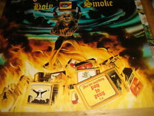 """IRON Maiden-Holy Smoke/ALL IN YOUR MIND & UCCIDERMI CE SOIR"""" .12 """"EMP 153 SUPER"""
