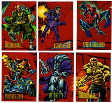 1993 Skybox Marvel Universe Red Foil Stamped 2099 You Pick Finish Your Set