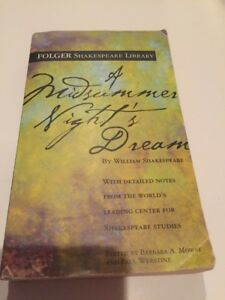 A Midsummer Night's Dream  (ExLib) by William Shakespeare