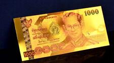 "★★ THAILANDE / THAILAND : BILLET POLYMER  "" OR "" DU 1000 BAHT 2005  ★"