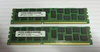 Micron MT36KSF1G72PZ-1G6M1FF 16GB (2x8GB) 2Rx4 PC3-12800 DDR3 ECC 240P CL11 RAM