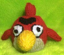 Tejer patrón-Rojo Angry Bird inspirado Chocolate Tapa Naranja/9 CMS de juguete