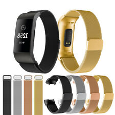 Watch Strap Fit For Fitbit Charge 3 Strap Replacement Milanese Band Magnet UK