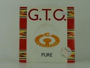 """G.T.O PURE (34) 2 Track 7"""" Single Picture Sleeve CHRYSALIS RECORDS"""