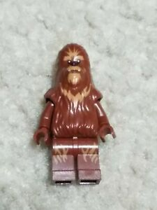 Lego Star Wars Wookiee Warrior Minifigure SW0132 Excellent Pre Owned