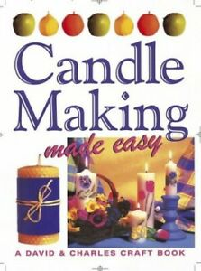 Candle Making (Crafts Made Easy S.) Hardback Book The Cheap Fast Free Post