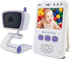 Babyphone Moniteur Video Vision Nocturne Diurne Sans fil Batterie Autonomie 5h