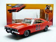 AUTO WORLD 1/18 DODGE CHARGER GENERAL LEE-Dukes of Hazzard amm964