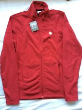 Apple Logo Full Zip Fleece Jacket Red  Size S ,by Colorado Clothing
