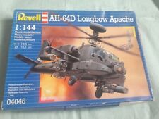 MODEL HELICOPTER Revell AH-64D Apache Longbow 1:144 SCALE