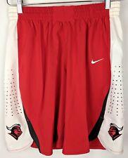 Nike Basketball Training Shorts Womens Sz MMedium Red WhiteKnight No Pockets