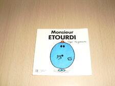 "Monsieur ETOURDI  Roger Hargreaves Collection ""Bonhomme"""