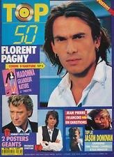 TOP 50 176 (15/7/89) FLORENT PAGNY MADONNA HALLYDAY