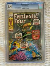 1971 Fantastic Four #108 CGC 9.4 NM KIRBY THING Human Torch ANNIHILUS