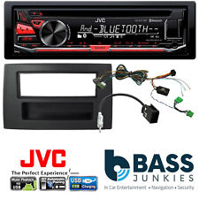 Volvo XC90 2002 On JVC Bluetooth USB CD MP3 AUX In SWC Car Stereo Black Kit