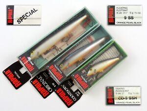 Rapala rare X3 F11 special / F9 SS / CD-5 SSH