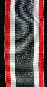Kriegsverdienstkreuz (KVK) II. Klasse - 2. Weltkrieg, Bandabschnitt 30mm, 18cm
