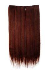 Postiche Extensions Cheveux Large 5 Clips Dense Lisse Cuivré 60 cm L30172-35