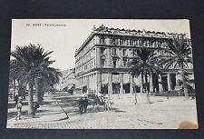 CPA 1913 CARTE POSTALE ALGERIE COLONIES FRANCE AFRIQUE BONE PALAIS LECOCQ