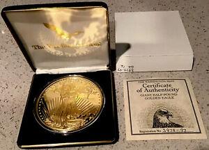 1997 Washington Mint Giant Half Pound Golden Eagle