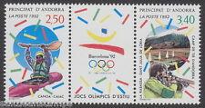 ANDORRA - 1992 Olympic Games, Barcelona (2v) - UM / MNH