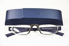 estable Hombre Metal Gafas de lectura 2,5 en azul+Estuche Unisex Ayuda Para Leer