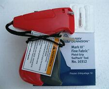 Avery Dennison Fine Clothing Price Tagging Gun w/ 500 genuine Denisson fasteners