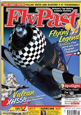 Flypast 2012 August Vulcan,Fw190,Lightning,P-47