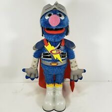 2011 Hasbro Sesame Street SUPER GROVER 2.0 Flying / Talking Super Hero Muppet