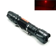 Waterproof 650nm Red Laser Pointer Focusable Dot Torch Flashlight 650T-200