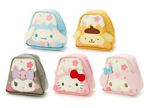 Japan Cinnamoroll Pompompurin Kuromi Hello Kitty My Melody Coin Case -Mount Fuji