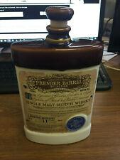 Premier Barrel 11 Year Whisky Decanter (Empty)