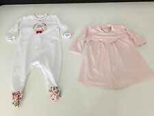 Tutto Piccolo & Emile Et Rose Bundle Age 6 Months Dress & All In One Suit