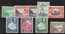 Bermuda 1936-47 set to 1s 6d MLH/MH