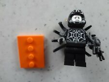 LEGO Party Series 18 Minifigure Spider Suit Guy. #9 New Packet, Check Sheet