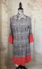 Reborn women's stretch knit long mini bell sleeves size small mix prints bb05