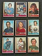 1974-75 Topps Hockey Singles - Pick Your Singles - 99¢ each