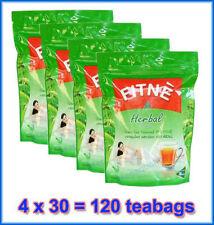 4 X 30 120 Fitne Herbal Green Tea Slimming Weight Loss Diet